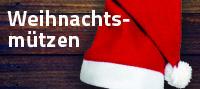 Weihnachtsmützen mit Logo