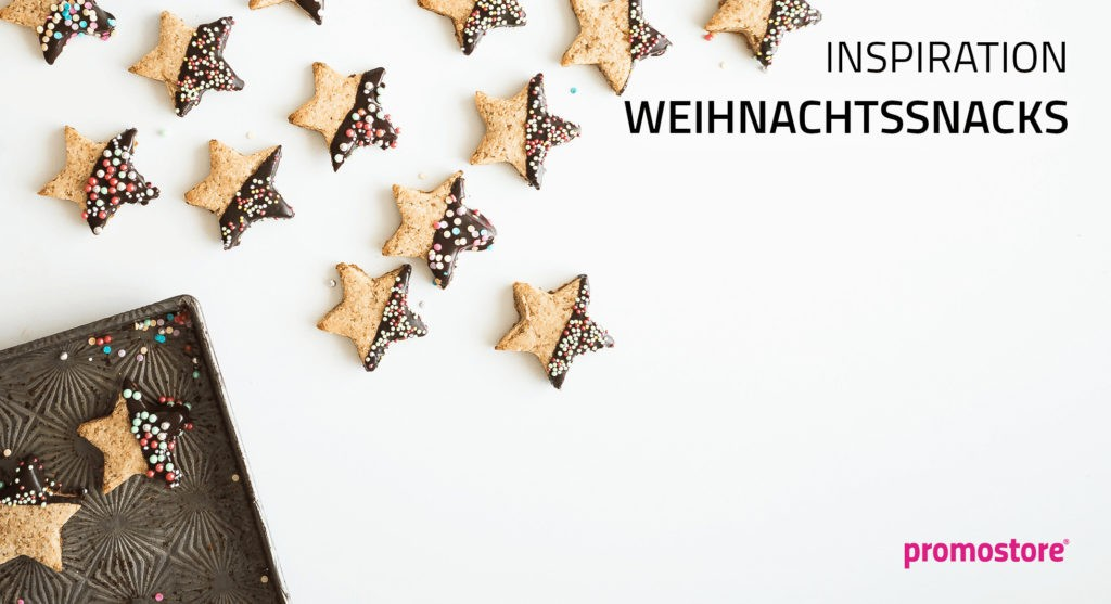 Weihnachtssnacks als Werbegeschenk