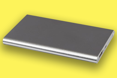 Powerbank aus Aluminium Werbeartikel-Materialien