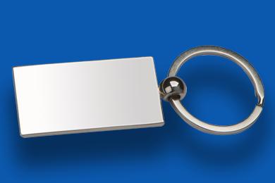 Metall Schlüsselanhänger Werbeartikel Materialien