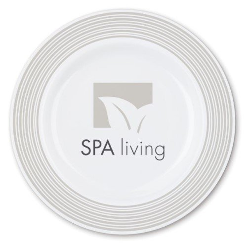 Bedruckte Teller mit Logo