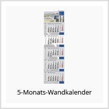 5-Monats-Wandkalender