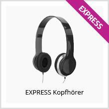 Express-Kopfhörer bedrucken
