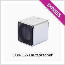 Express-Lautsprecher als Werbeartikel bedrucken