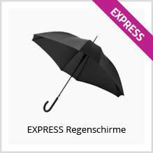 Express-Regenschirme bedrucken