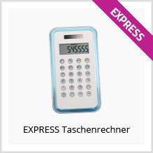 Express-Taschenrechner bedrucken