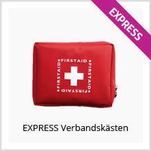 Express-Verbandskästen bedrucken