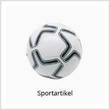 Express-Sportartikel mit Logo