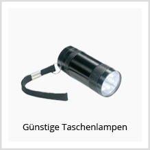 Günstige Taschenlampen