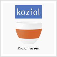 Koziol-Tassen als Werbeartikel bedrucken