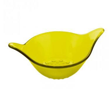 Gelbe Koziol Küchenschale
