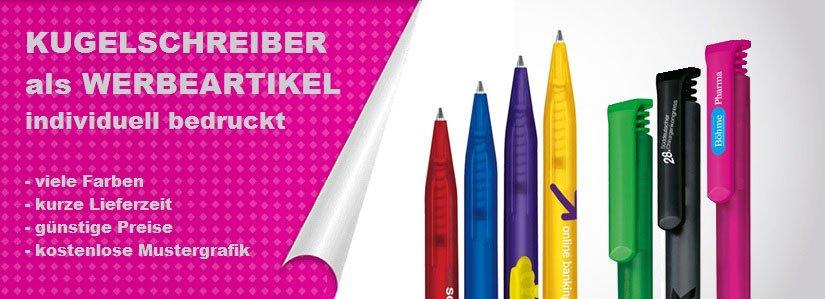 Kugelschreiber mit Logo bedrucken