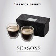 Seasons-Tassen als Marken-Werbeartikel