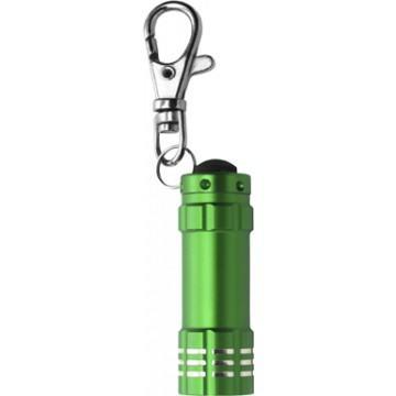 Schlüsselanhänger-Taschenlampe als Werbeartikel bedrucken
