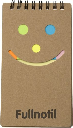 Notizbuch 'Happy face', Ansicht 4