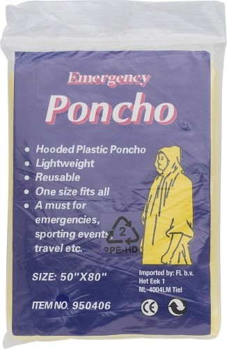 Universalponcho 'Emergency'