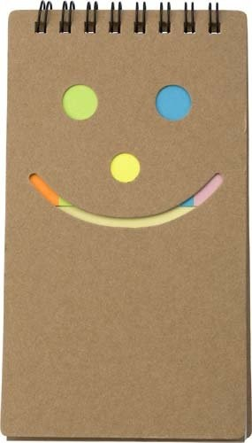 Notizbuch 'Happy face'