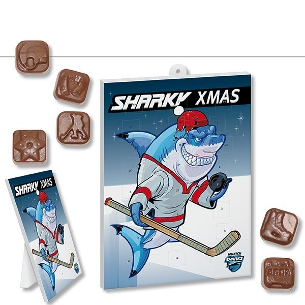 Eishockey-Schoko-Adventskalender BUSINESS