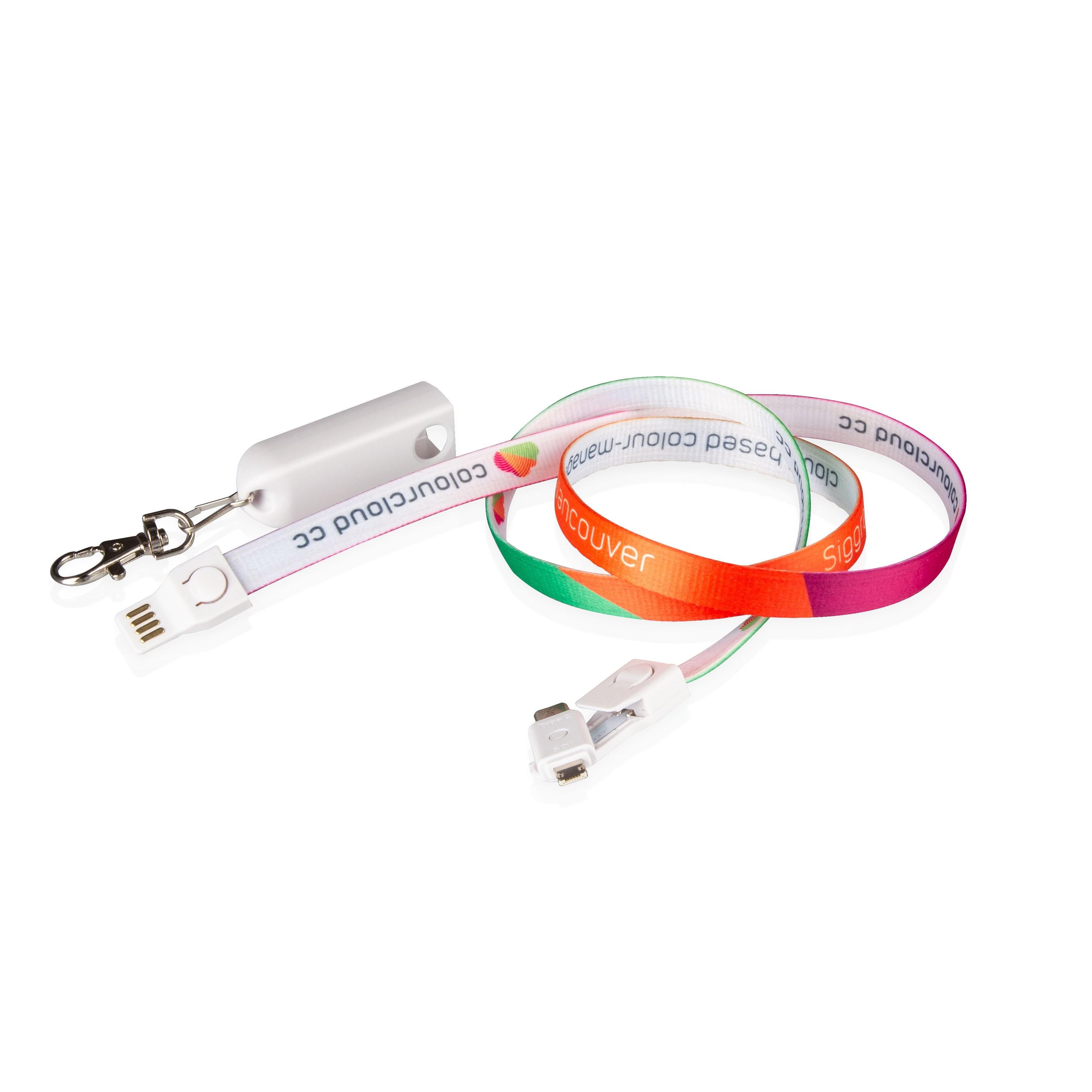 3-in-1 USB-Lanyard
