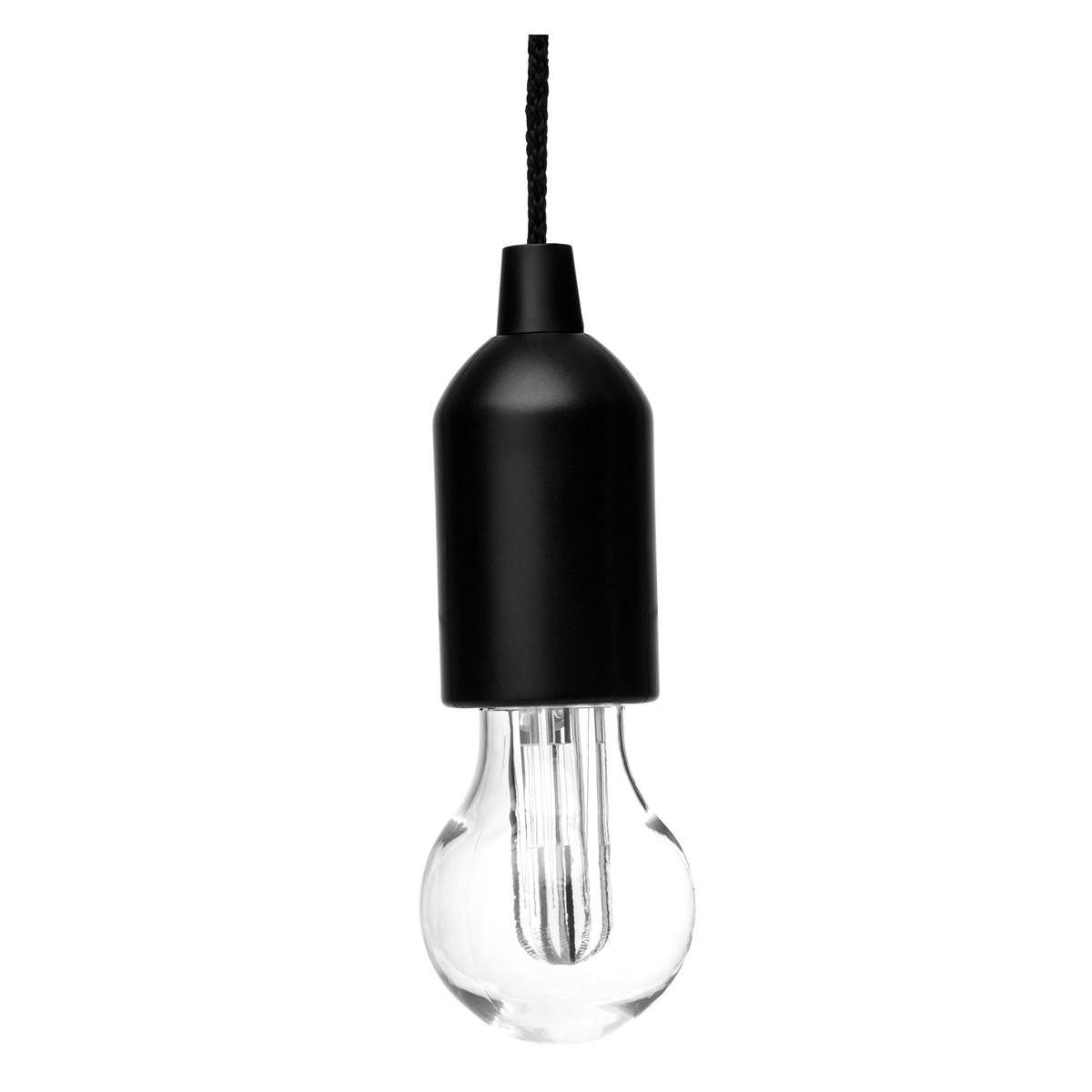 LED Lampe mit effektvollem Wechsellicht REFLECTS-GALESBURG III BLACK