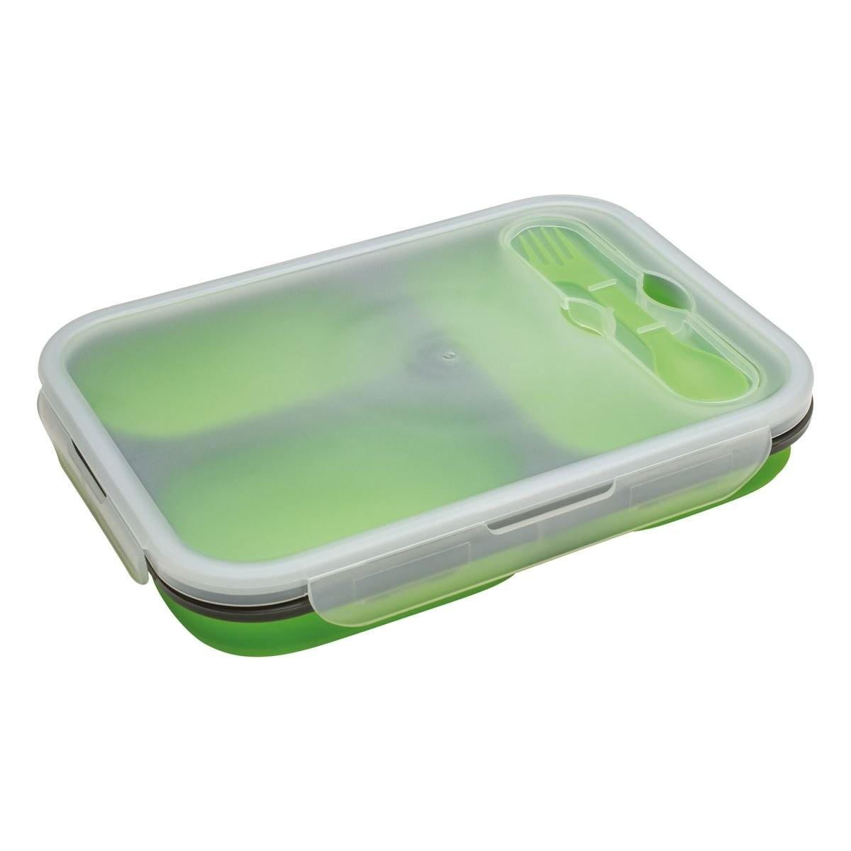 Lunch Set REFLECTS-SILLIAN LIGHT GREEN XL
