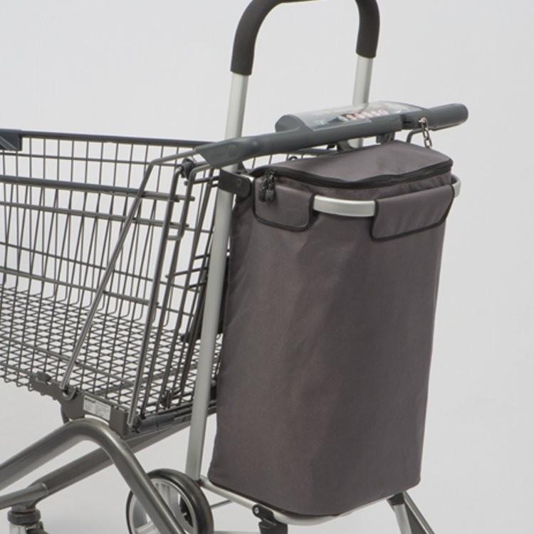 Luxus-Einkaufstrolley mit Kühlfach, Ansicht 3