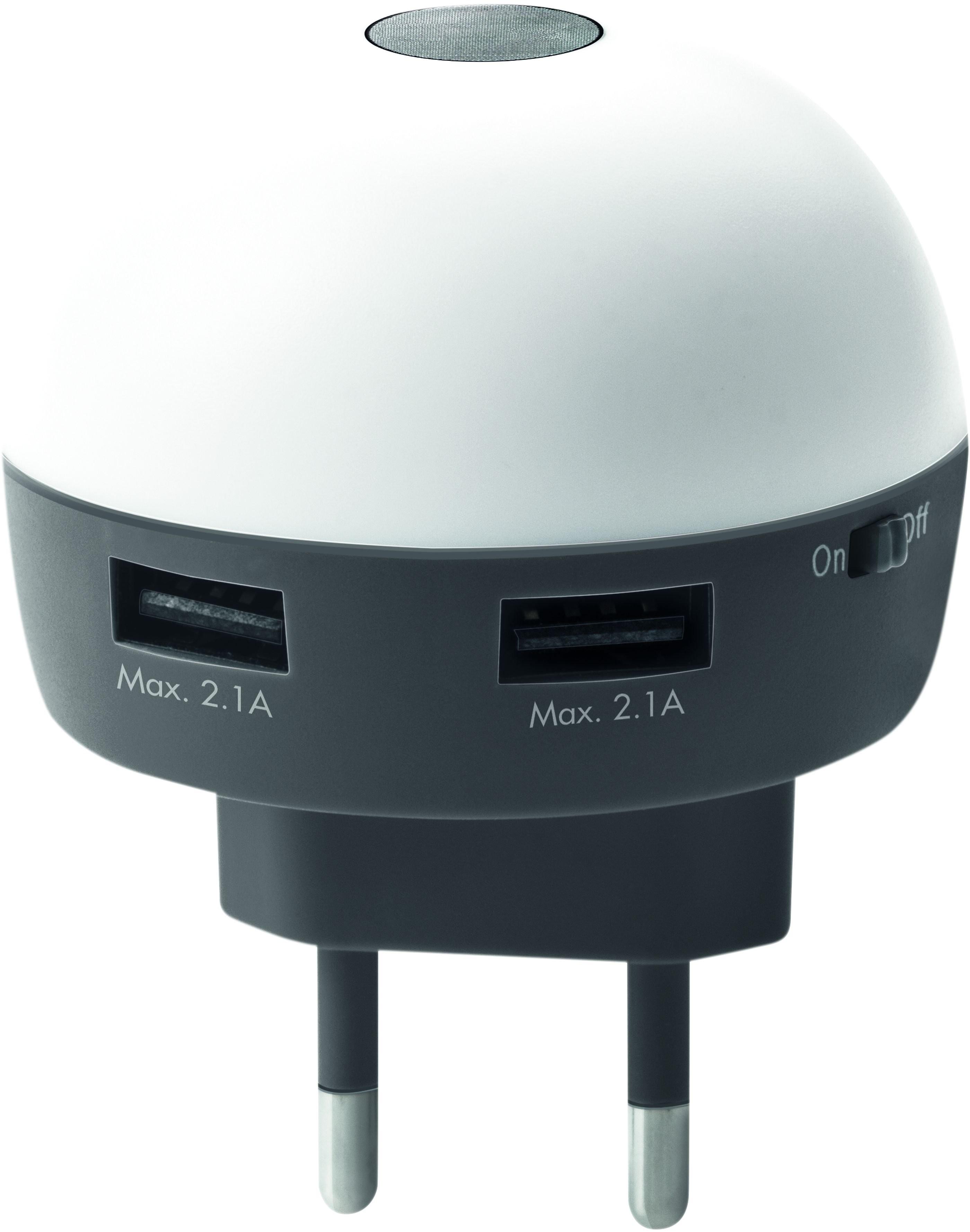 USB Ladegerät mit LED-Licht, Ansicht 2