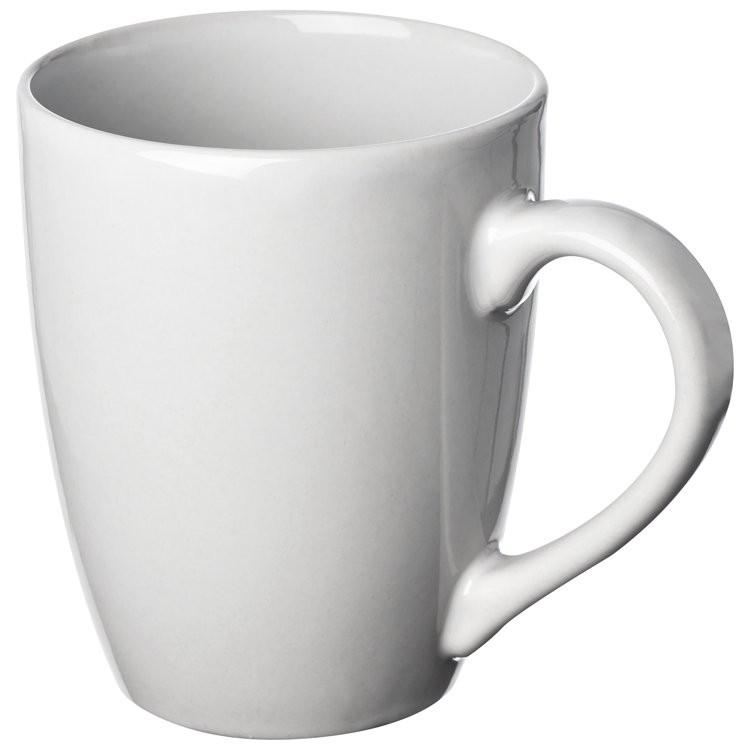 Weiße Keramiktasse 300ml