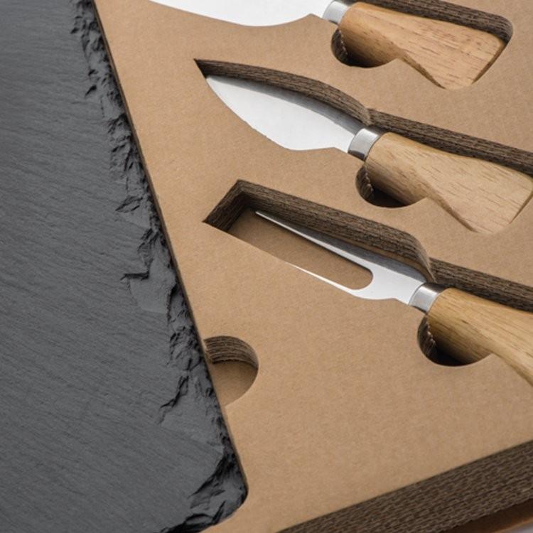 k seset mit schieferplatte bedruckt als werbeartikel 855431633. Black Bedroom Furniture Sets. Home Design Ideas