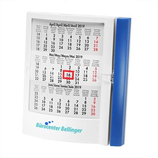 Tischkalender 4-sprachig, Ansicht 2