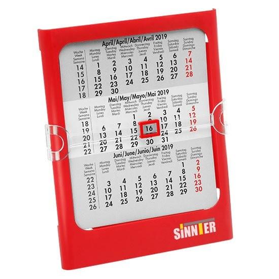 Tisch- und Wandkalender, 4-sprachig, Ansicht 2