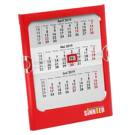 Tisch- und Wandkalender, 1-sprachig, Ansicht 2