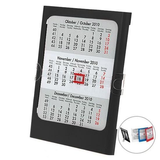 Tisch- und Wandkalender, 4-sprachig