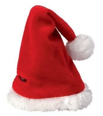 Weihnachtsmütze für Plüschtiere Gr. M