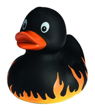 Quietsche-Ente Flamme