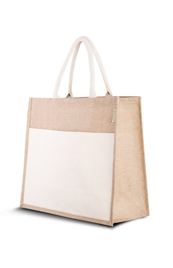 "Jute (Strand)Tasche ""Combi"""