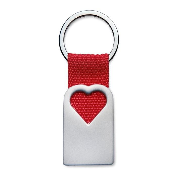 Schlüsselanhänger Herz BONHEUR, Ansicht 4