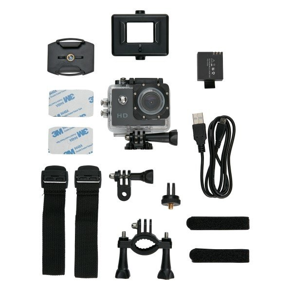 Action Kamera mit 11tlg. Zubehör, Ansicht 6