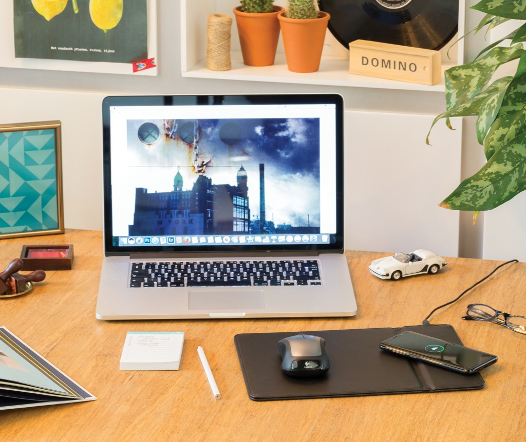 Mousepad mit Wireless-5W-Charging Funktion, Ansicht 4