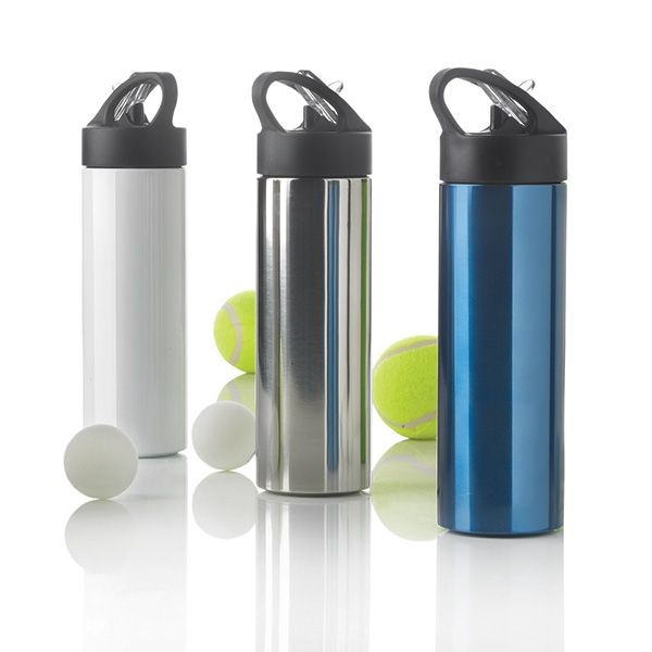 Sport Edelstahlflasche mit Trinkvorrichtung, Ansicht 2
