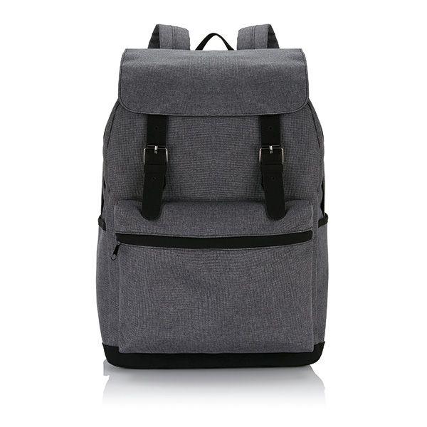 Laptop Rucksack mit magnetischen Schnallenverschlüssen, Ansicht 3