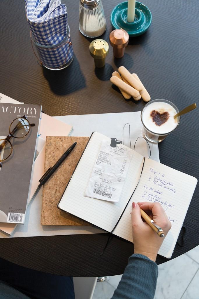 Kork A5 Notizbuch mit Bambus Stift und Stylus, Ansicht 9