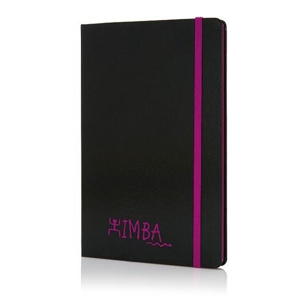A5 Notizbuch mit farbigem Seitenrand, Ansicht 8