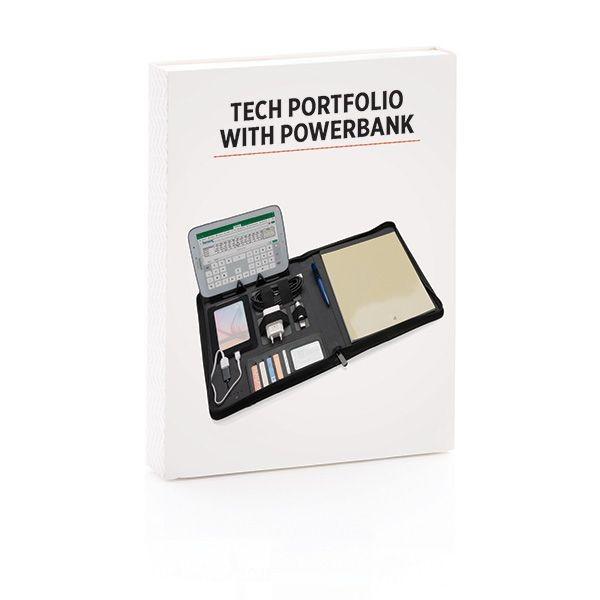 Tech Portfolio mit Powerbank 4000 mAh, Ansicht 13