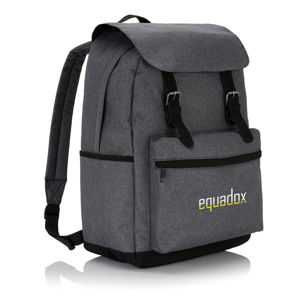 Laptop Rucksack mit magnetischen Schnallenverschlüssen, Ansicht 6