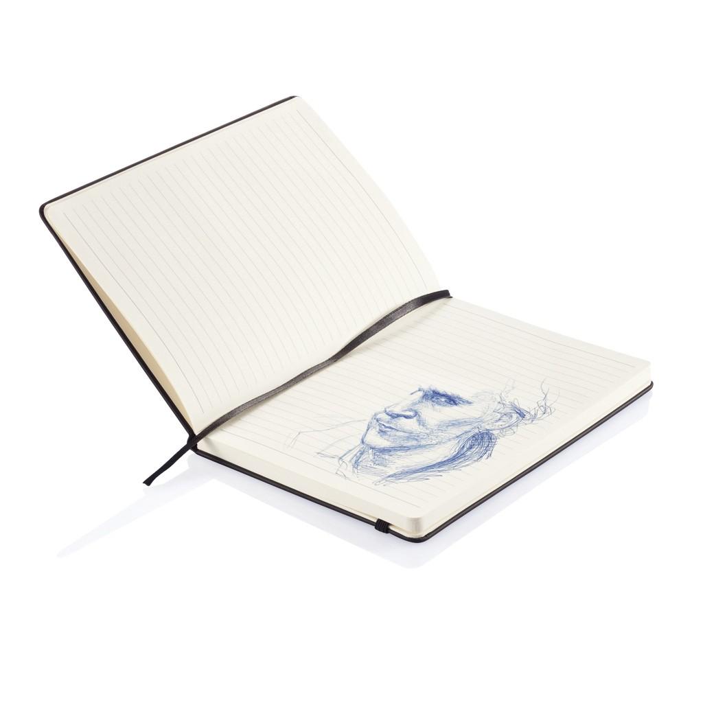 Deluxe Hardcover PU A5 Notizbuch, Ansicht 10