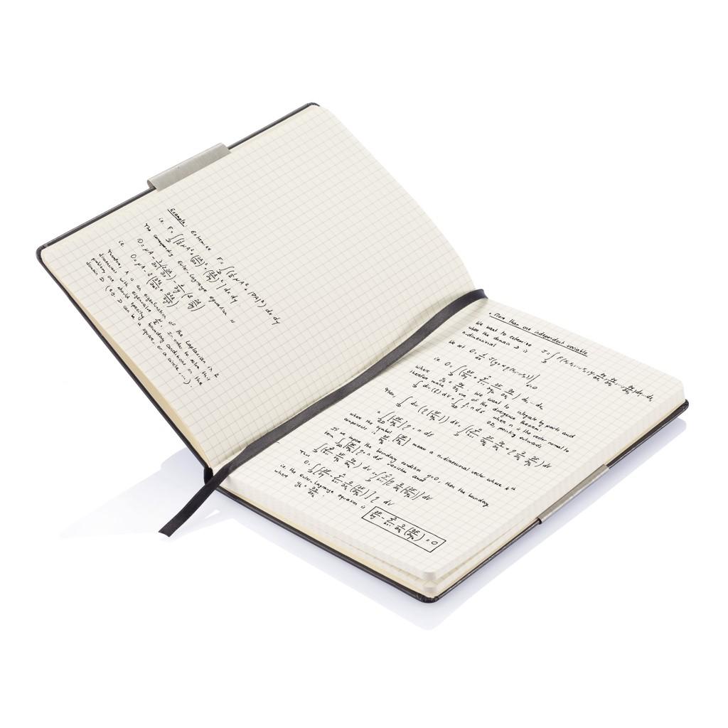 A5 Hardcover Notizbuch kariert, Ansicht 4