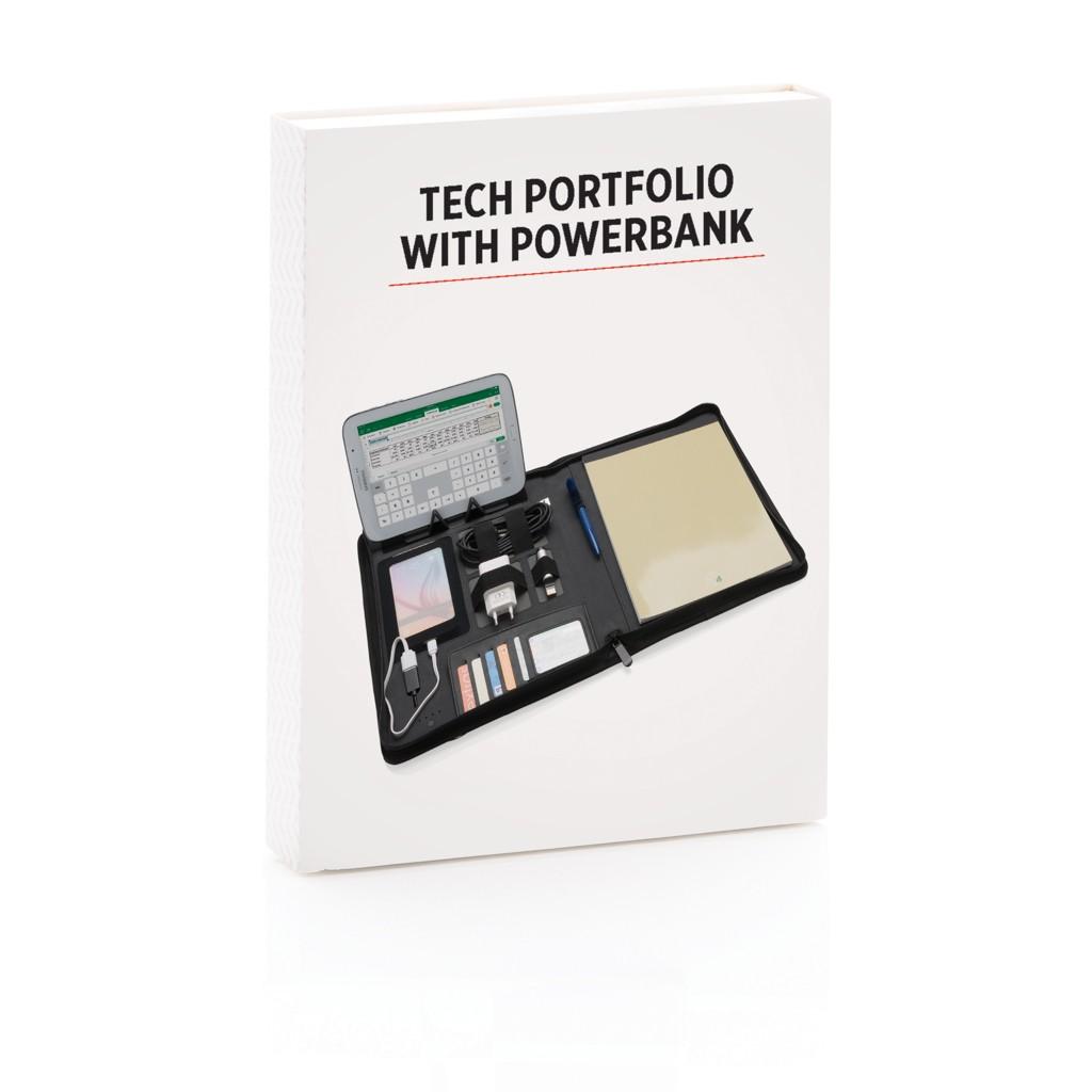 Tech Portfolio mit Powerbank 4000 mAh, Ansicht 11