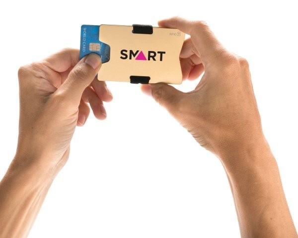 RFID Anti-Skimming Kartenhalter aus Aluminium, Ansicht 9