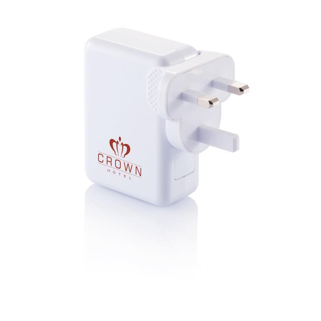 Reiseadapter mit 4fachem USB Anschluss, Ansicht 10